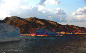 omani mountains from the sea with altered colours for fine art ideas.